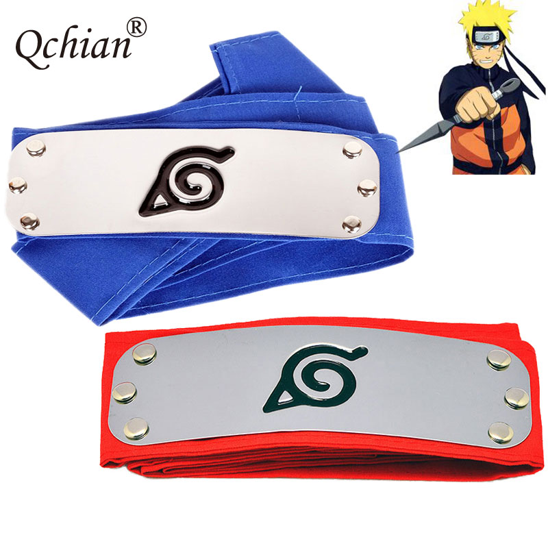 Naruto Headband for Men Women Leaf Village Konoha Uchiha Itachi Kakashi Akatsuki Members Madara Headband Boys Halloween Carnival leaf village naruto headband