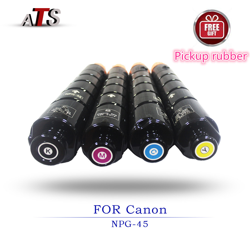 1PCS BK720G CMY440G Toner Cartridge For NPG45 ADVC IRC 5051 5045 Photocopy Machine Copier Parts Office Electronics