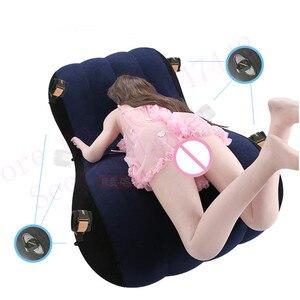Image 4 - แบรนด์หรูแบบพกพาโซฟาพองหลายสนุกผู้ใหญ่เพศเตียงรถเตียงผู้ใหญ่เพศโซฟาPadรักเพศเก้าอี้เฟอร์นิเจอร์เพศ.