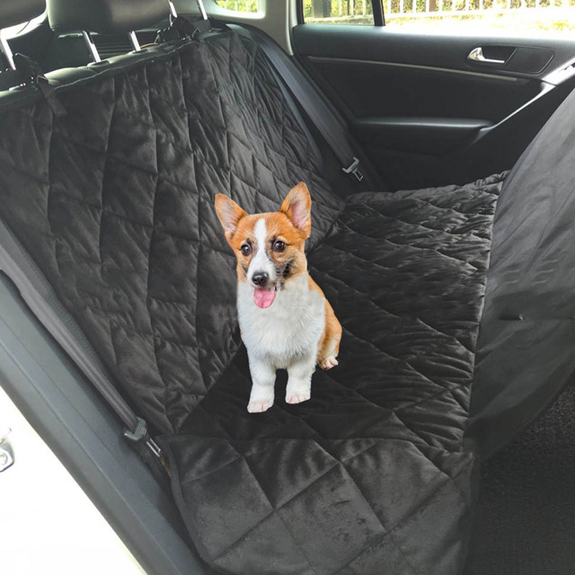 Waterproof Car Pet Dog Carrier Seat Cover Mats Back Bench Seat