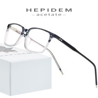 Acetate Glasses Frame Men Square Nerd Prescription Eyeglasses 2019 New Male Myopia Optical Frame Korean Clear Spectacles Eyewear