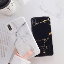 White and black Mobile phone Marble cover fundas For Apple iPhone XR XS MAX 8 7 plus 6 6s X marble cases