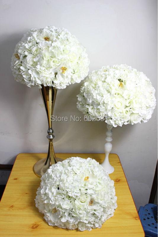 SPR svatební stůl centrum květina ples svatební cesta vést umělá flóra vrchol svatba pozadí květinové dekorace