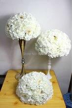 Здесь можно купить   2016 wedding table center flower ball  wedding road lead artificial flore  centerpiece  wedding backdrop flower decoration Festive & Party Supplies