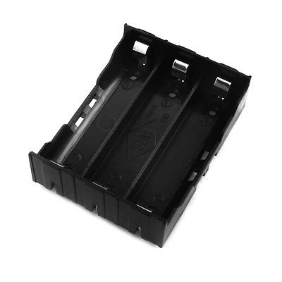 Open Frame Plastic Housing 3 x 3.7V 18650 Battery Holder Case Cell Box 4pcs a lot diy plastic enclosure for electronic handheld led junction box abs housing control box waterproof case 238 134 50mm
