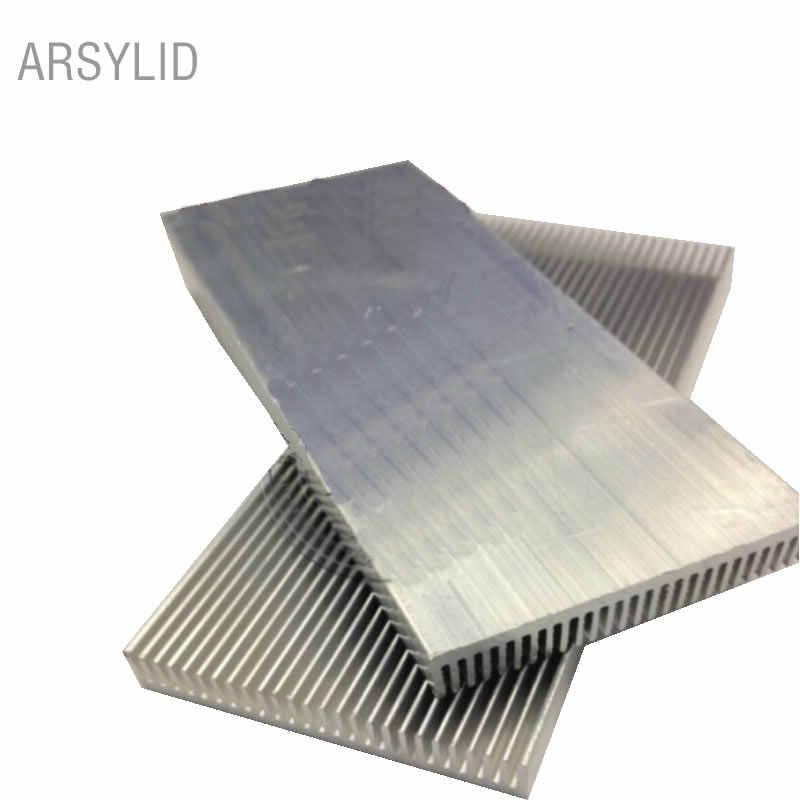 2 Pcs/lot 300 Mm 100 Mm 100X41X8 Mm Aluminium Heatsink Elektronik Pendingin Radiator Aluminium Blok