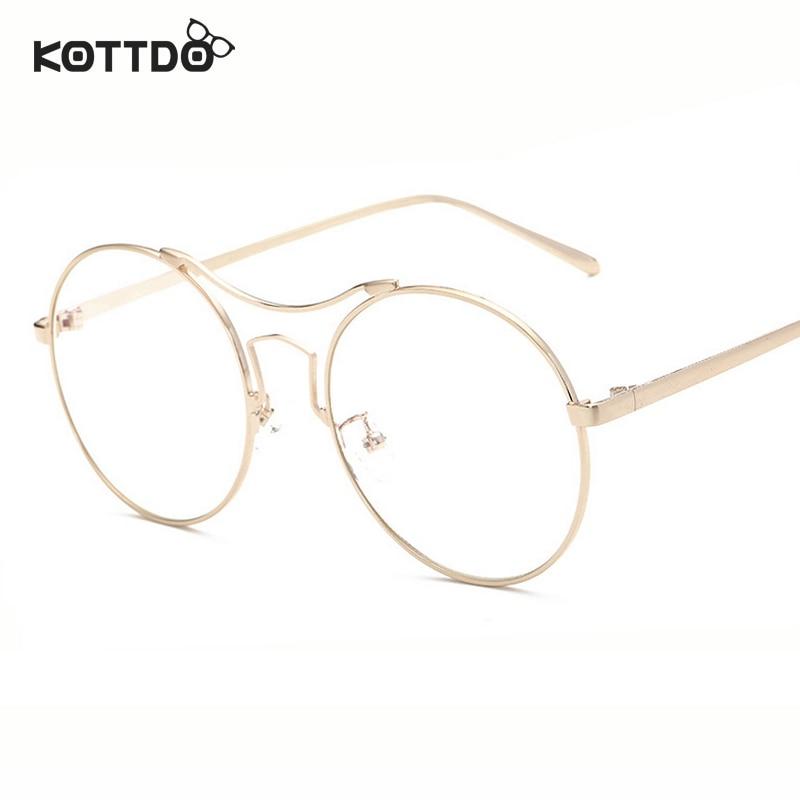 Eyeglass Frame Lens : ???( ? )KOTTDO Unisex Retro ? Round Round Vintage Glasses ...