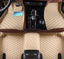 Buena calidad! personalizado esteras especiales del piso del coche para Cadillac CTS 2017-2008 fácil de limpiar resistente antideslizante alfombras alfombras, envío libre