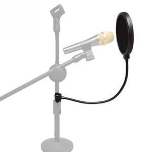 Image 1 - Микрофонный фильтр для пения щиток для ветрового стекла Pod литой, двойной двухслойный анти микрофонный металлический студийный фильтр