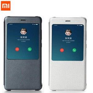 "Image 1 - Xiaomi redmi note 4 original, capa de couro pu de 5.5 ""redmi note 4x, redmi note4 prime capa do telefone do note4x pro"