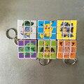 Naruto Anime Patrón Lindo Gatito Gato etiqueta engomada del pvc Cubierta de magia se agita Cubo rompecabezas velocidad Cubo Creativo llavero juguete Clásico Para kid