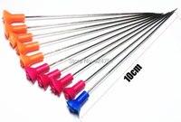 (10pcs/bag)arrows blow darts/needlse Suitable for Blow Gun Calibre 1cm Length 10CM fit Leopard M50 BlowGun .40 Calibre