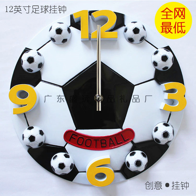 Football basketball personalized Large wall clock design brief ...