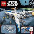 Lepin 05054 679pcs Genuine Star War Series The Rebel U-Wing Fighter Set Building Blocks Bricks With Lege 75155