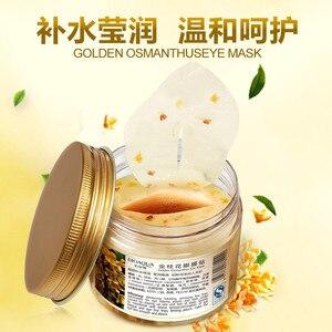 Image 2 - 80 pçs osmanthus máscara de olho feminino colágeno gel soro de leite proteína olho cuidados com a pele remendos de sono saúde mascaras de dormir anti rugas