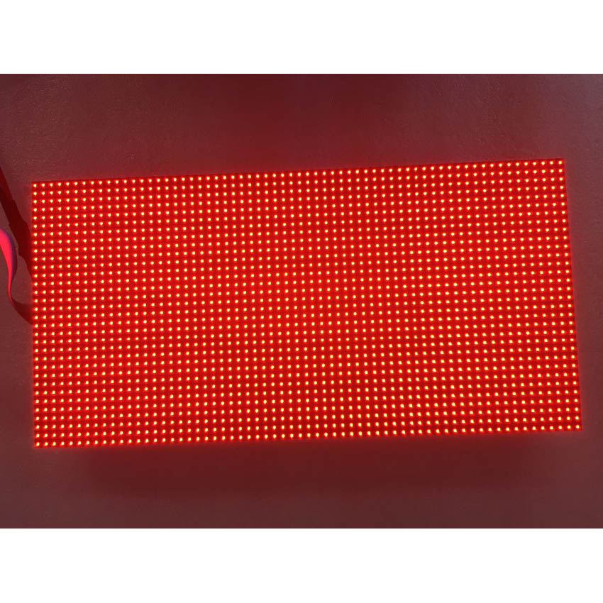 256*128mm Waterproof LED Module High Qquality P4 Outdoor RGB 64x32dots SMD Full Color Screen For Advertising Panel