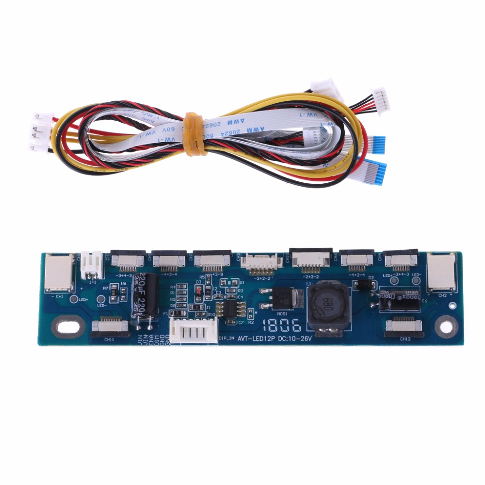 Backlight LED Inverter Tester Constant Current Board Driver Board 12 Connecters -Y103 for changhong 3dtv55880i constant current board ssl550 3e2a is used
