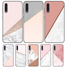 Black Soft Silicone Case Cover for Samsung Galaxy A6 A7 Plus 2018 A10 A20 A30 A40 A50 A60 A70 A80 A20E Fundas Capa Gold Pink ros