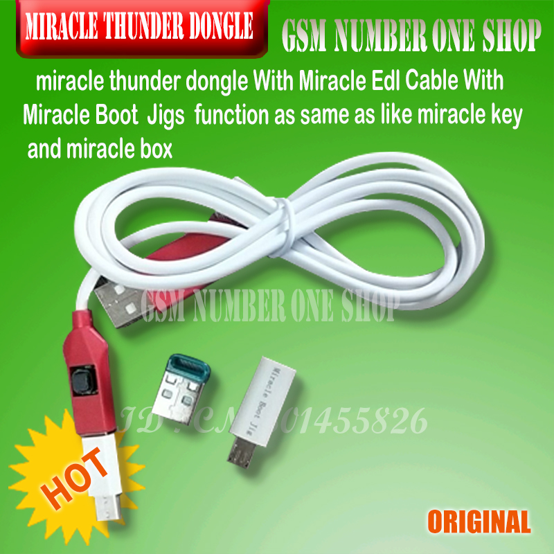 miracle thunder crack