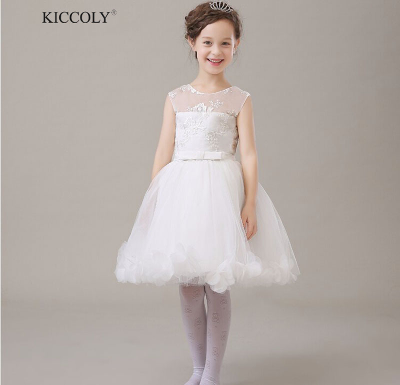 2015 new retail flower girls elegant Embroidery lace mesh wedding birthday party dresses baby kids vestidos infantil clothes elegant flower lace lacut cut wedding invitations set blank ppaer printing invitation cards kit casamento convite pocket