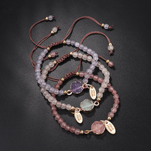 Handmade Chakra Bead Bracelet Popular Love Lucky Bracelets & Bangles for Women Men  Couples Jewelry Creative Gifts