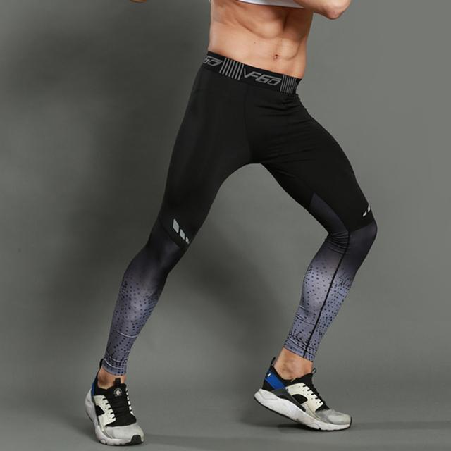 Men Sports Leggings Long Trousers Yoga Pants