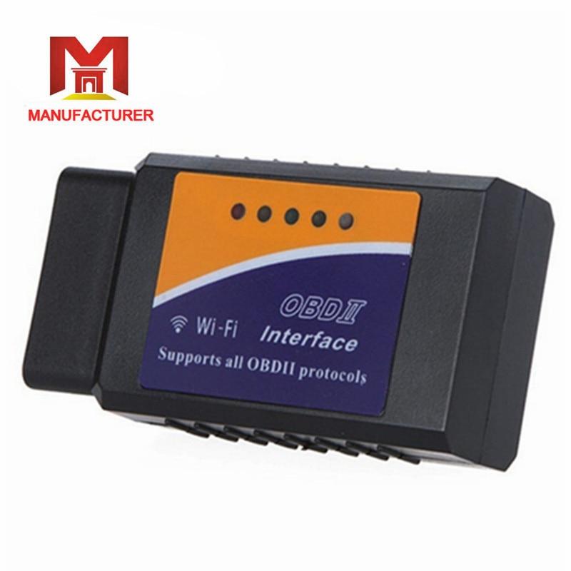 HOT promotion V1 5 Elm327 wifi OBDII obd2 ios font b Car b font Diagnostic Interface