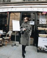 Из натуральной норки кашемировый свитер женщин кардиган вязаный жакет с длинным пальто с мехом Бесплатная доставка