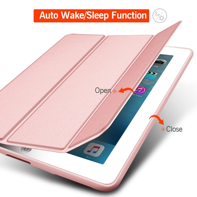 Portable Leather Smart Case for iPad 3
