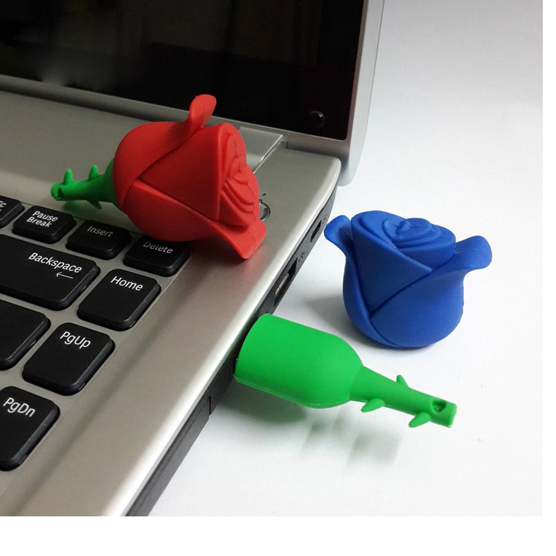 USB Flash Drive 64 GB 32 GB 16GB 8GB Lule Rozë shumëngjyrësh - Memoria e jashtme - Foto 5