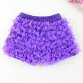 Baby Girls Pantie Shorts Sale Chiffon Ruffle Short All around Ruffle Short Purple Girls Ruffle Shorts Photo Prop