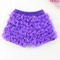 Baby Girls Pantie Shorts Sale Chiffon Ruffle Short All around Ruffle Short Purple Girls Ruffle Shorts Photo Prop