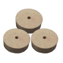 Hot 3 Inch Round Polishing Wheel Felt Wool Buffing Polishers Pad Buffer For Wood Metal Durable