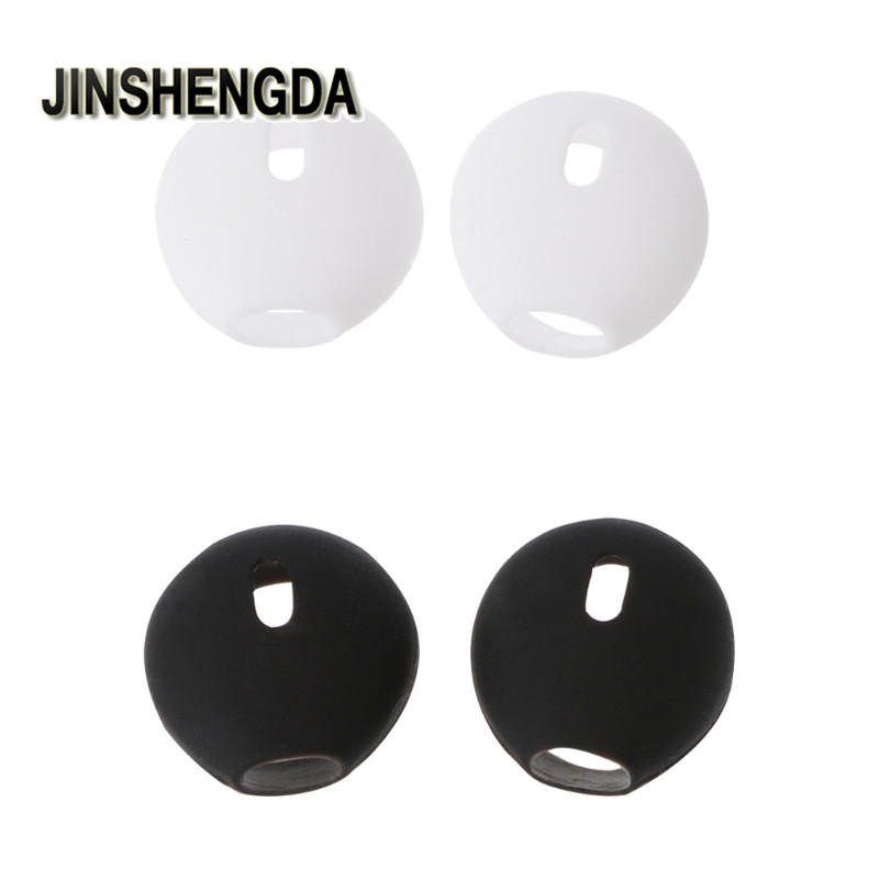 JINSHENGDA Earbuds 2Pairs Silicone in-ear Headset Earbuds Cover Anti-Lost Ear Cap for Apple for Airpods