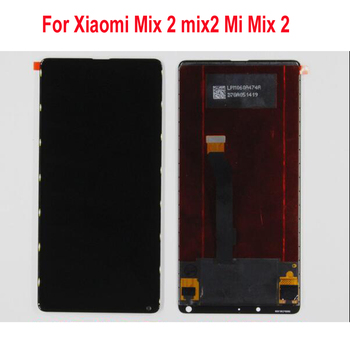 100% Tested Working Full LCD Screen Display Touch panel digitizer Assembly Sensor For Xiaomi Mix 2 mix2 Mi Mix 2 Mobile Parts