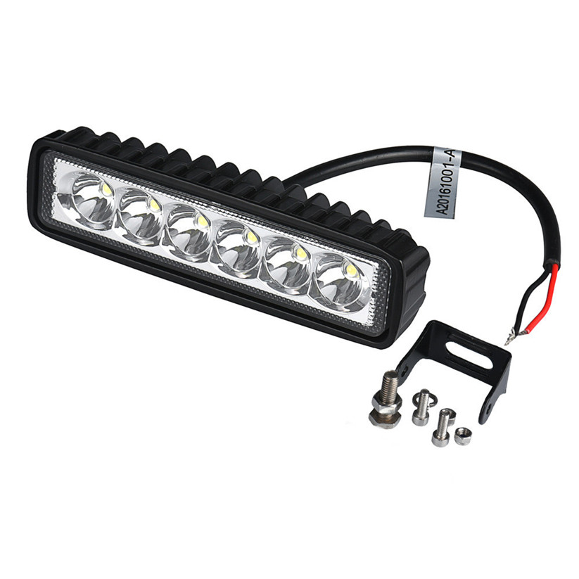 Car-styling KAKUDER 18W spotlight LED Light Work Bar Lamp Driving Fog Offroad SUV 4WD Car Boat Truck td0327 dropship