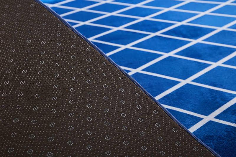 Baru Modern Minimalis Flanel Dicetak Karpet Kamar Tikar Nordic Ruang Tamu Meja Kopi Karpet Dapur Teras Karpet