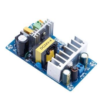 2018 Módulo de fonte de Alimentação AC 110 v 220 v para DC 24 V 6A AC-DC Switching Power Supply Board OCT30_35