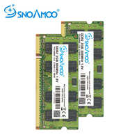 SNOAMOO Laptop RAMs DDR2 2GB 667MHz/800MHz PC2-6400S 200Pin 1GB 2GB 4GB 1.8V 2Rx8 SO-DIMM Computer Memory Warranty