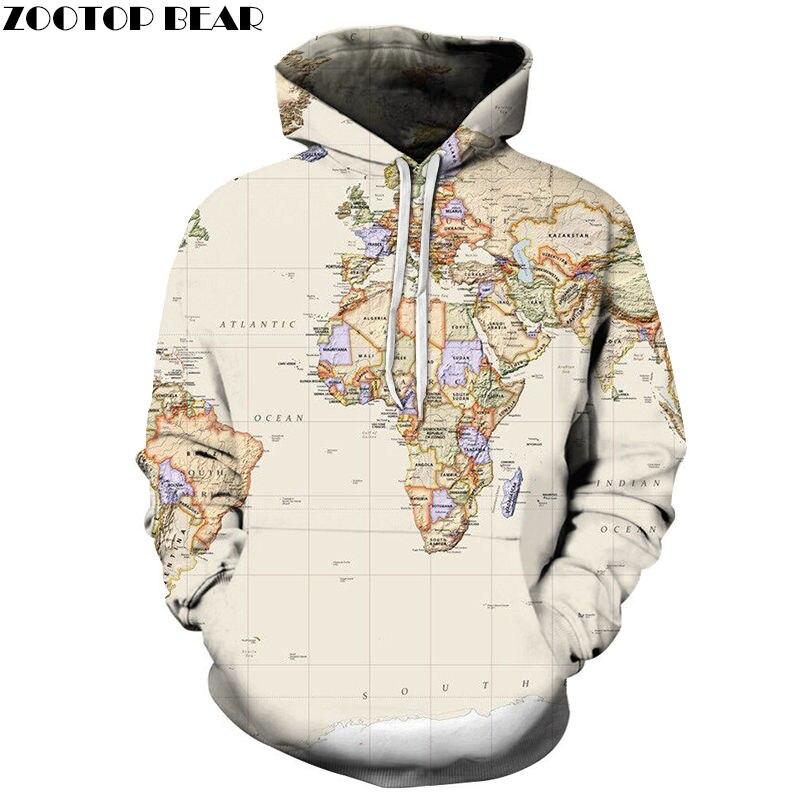 Beige Atlantic Ocean 3D Print Spring Casual Hoody Sweatshirt Men Tracksuit Hoodie Pullover Streetwear Jacket DropShip ZOOTOPBEAR