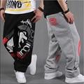 Мужская мода Хип-Хоп Спортивные Штаны Скейт Рэп Паркур Свободные случайные брюки для Мальчиков брюки мужские полная длина брюки