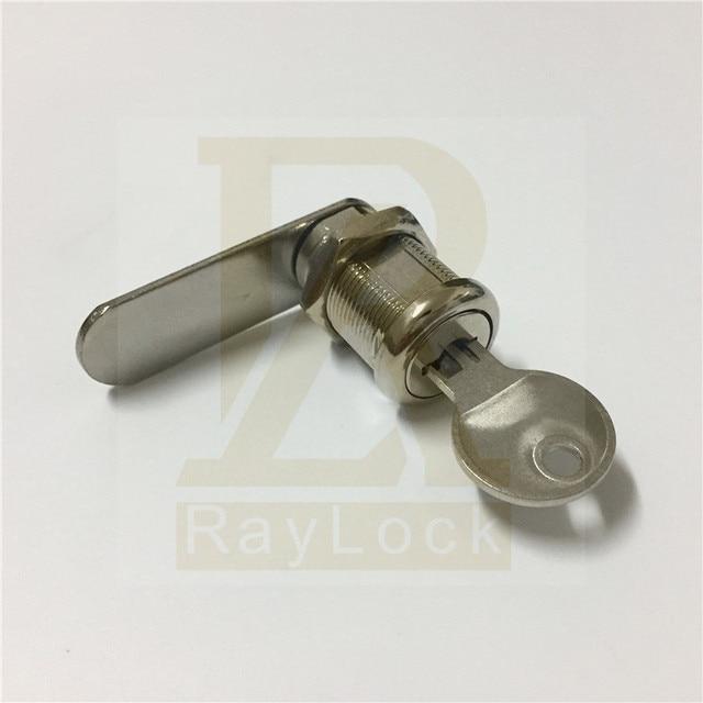 RayLock pack of 10 sheet metal panel cam lock flat key cupboard box lock