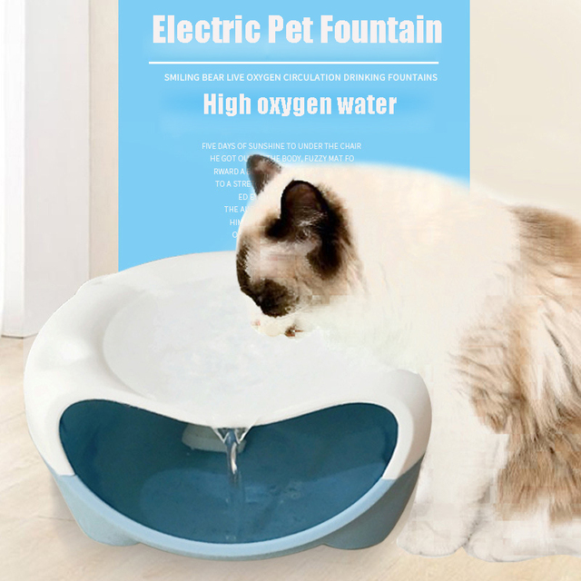 Fankalo Pet Cat Drinking Fountain Automatic Drinking Bowl Electric