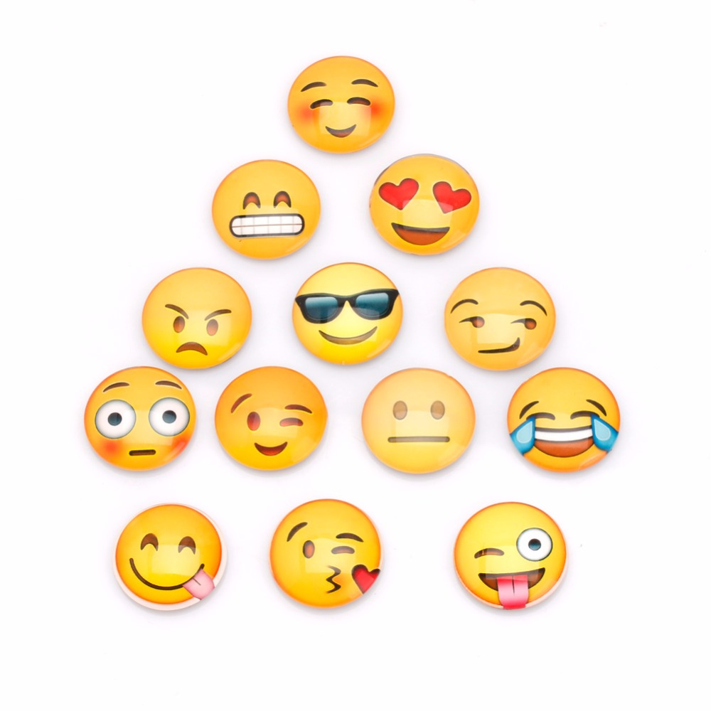 Objective 13pcs/bag Emoji Cartoon Expression Fridge Magnet Decor Whiteboard Message Holder New Refrigerator Parts Fixing Prices According To Quality Of Products Home Appliances