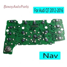 4L0919611 For Audi Q7 2012-2016 MMI Multimedia Interface Control Panel Circuit Board with Nav LHD