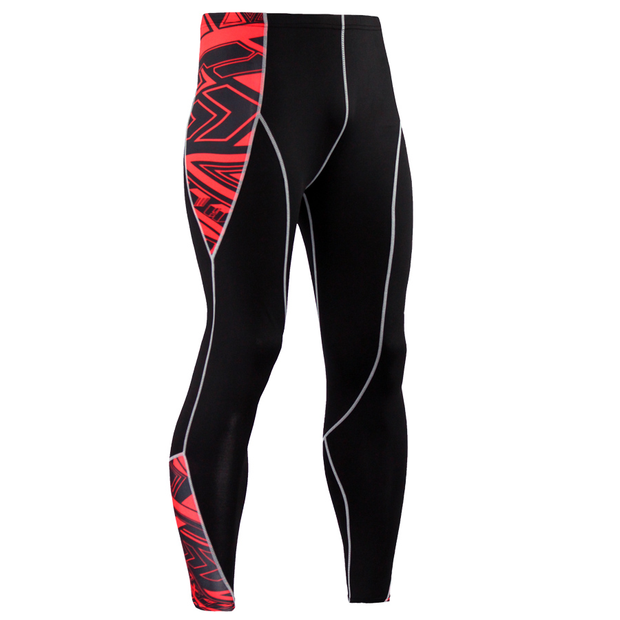 Mens Compression Pants Running Tights Basketball Gym Pants Bodybuilding Jogger Jogging Skinny Leggings Trousers Sportswear