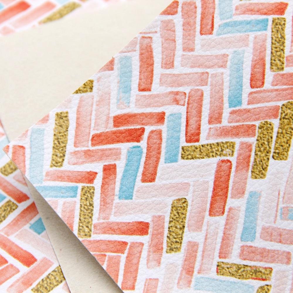 30*140cm Lychee Pattern Printed Faux Synthetic Fabric Sheets ,DIY handmade materials for shoes hair bow handbag,1Yc6518