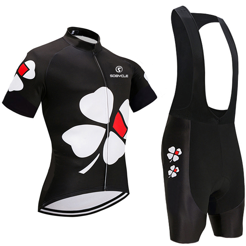 2018 UCI team BLACK Flower pro cycling jersey 9D gel pad bike shorts set Ropa  Ciclismo 171c77a3c
