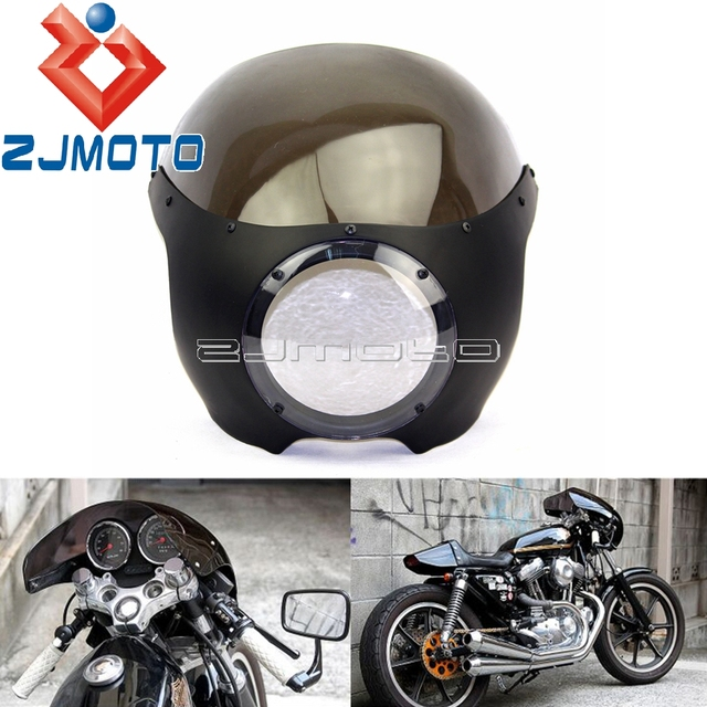 Sportster Dyna Custom 5 3 4 Headlight Fairing Motorcycle Headllight For Harley