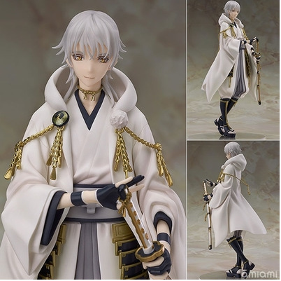 Anime Touken Ranbu Online Tsurumaru Kuninaga  PVC Action Figure Collectible Model Toy 22.5cm  KT2405 new hot 20cm touken ranbu online hotarumaru action figure toys collection christmas toy doll